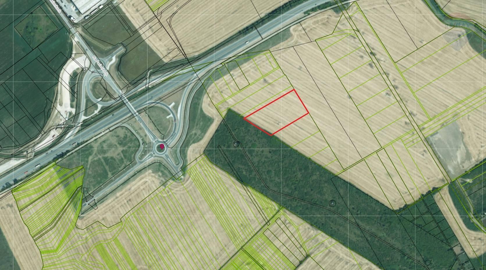 Predaj pozemku 1946 m2, Nitra - Parcela