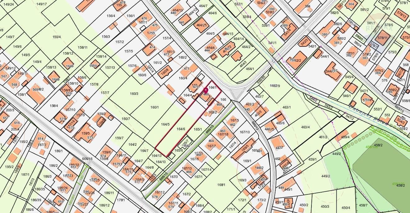 Predaj pozemku 2100 m2, Cabaj-Čápor - dom, pozemok Cabaj - Čápor