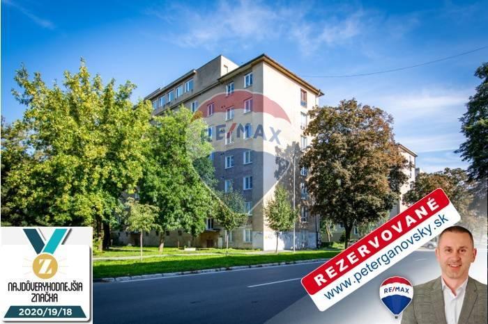**REZERVOVANÉ** PREDAJ, 2-izbový byt, 56m2, Košice-Sever, Ul. Národná trieda,