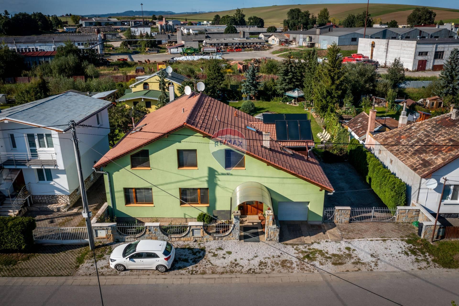 Predaj, rodinný dom, bazén, Smižany, Ul. Tomášovská,