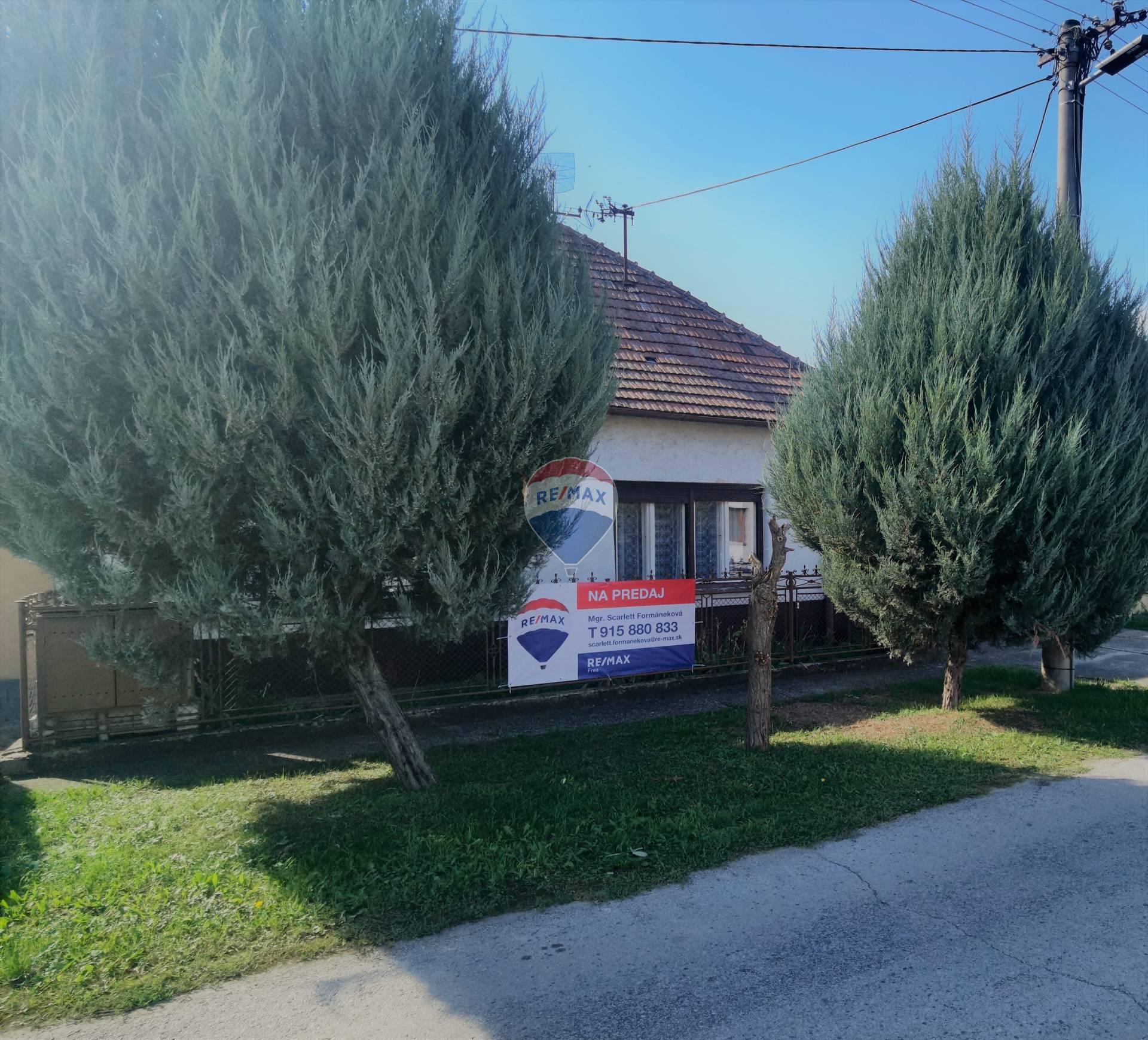 Na predaj: Rodinný dom Veľké Šúrovce