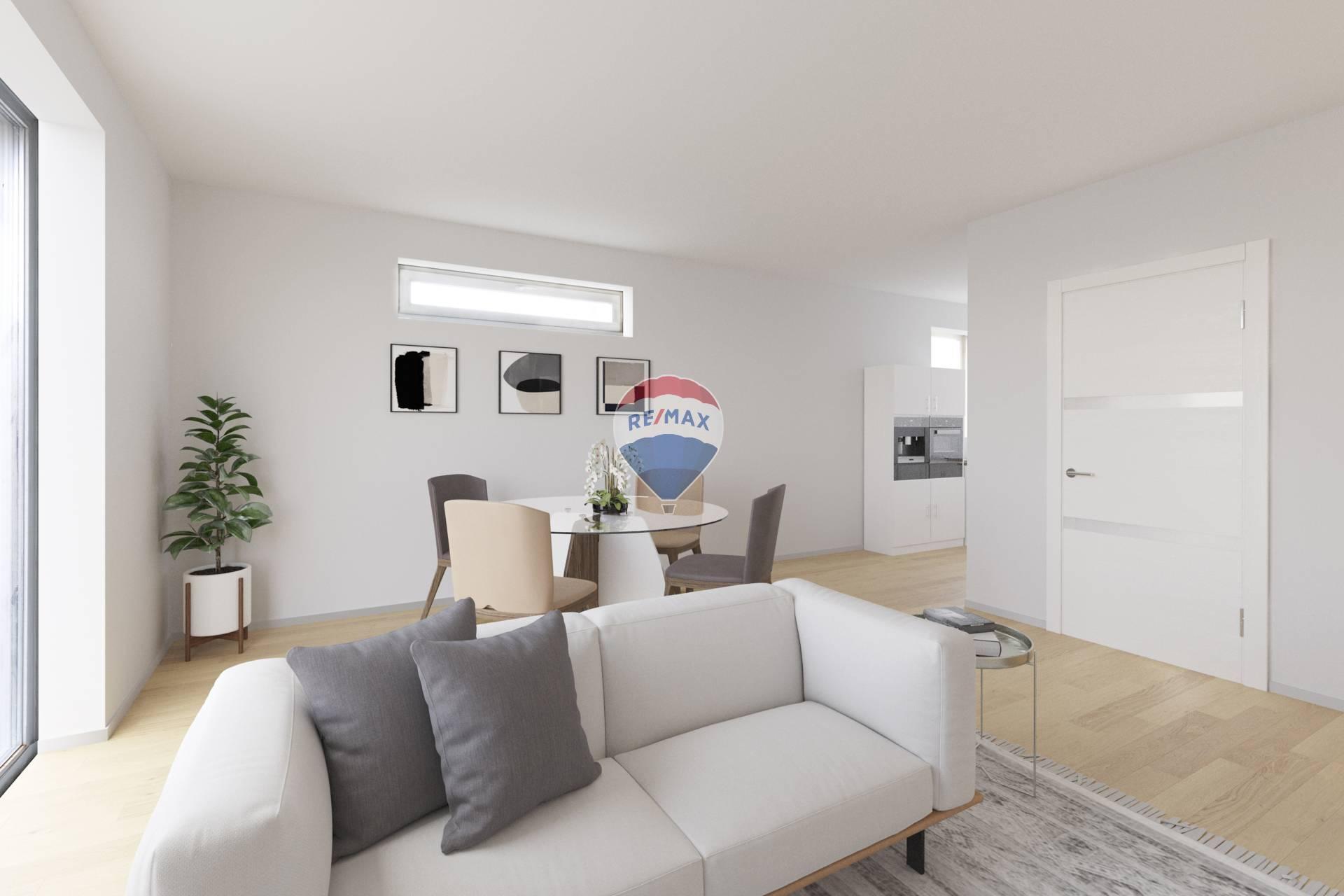 VIRTUÁLNA OBHLIADKA: PREDAJ 4 izb. rodinného domu v štandarde, Hurbanova Ves, novostavba, všetky IS