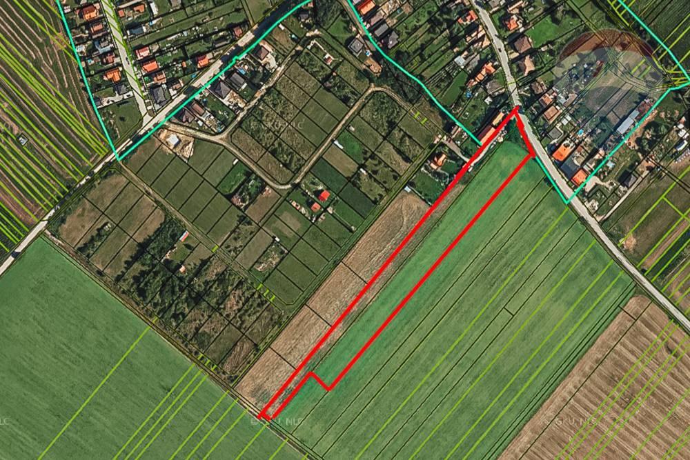 Predaj stavebného pozemku, Budmerice, 14307m2